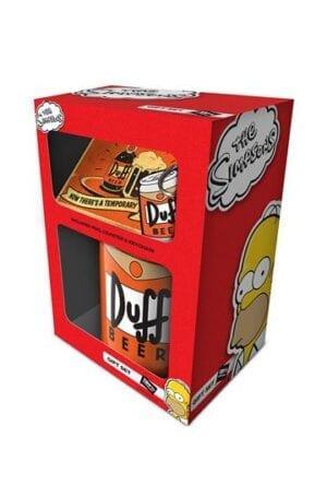 Simpsons Gift Box Duff