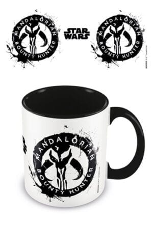 Star Wars The Mandalorian Coloured Inner Mug Sigil