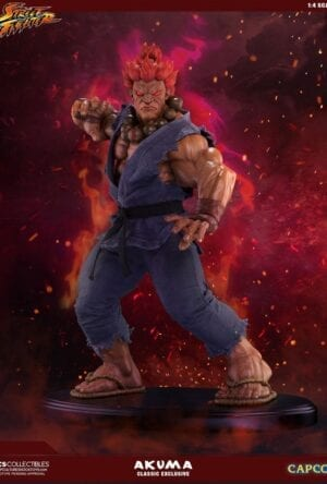 Street Fighter Mixed Media Statue 1/4 Akuma Classic Exclusive 45 cm