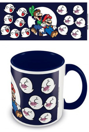 Super Mario World Coloured Inner Mug Boos