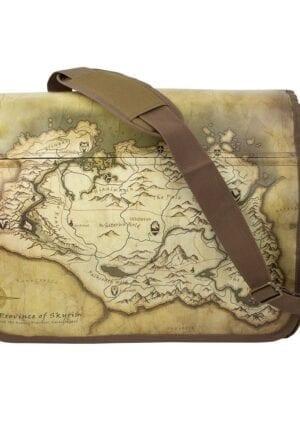 The Elder Scrolls V: Skyrim Messenger Bag Map