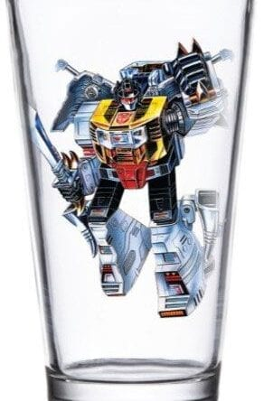 Transformers Pint Glass Grimlock