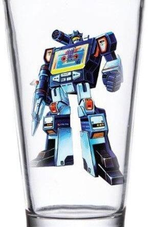 Transformers Pint Glass Soundwave