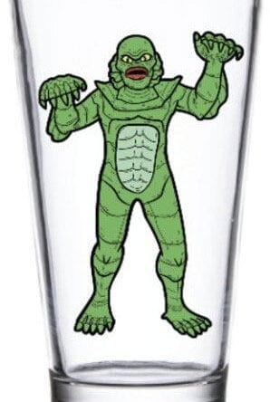 Universal Monsters Pint Glass Creature from the Black Lagoon