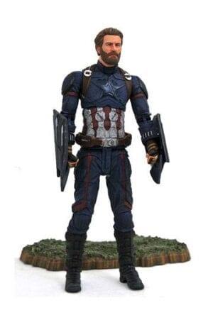 Avengers Infinity War Marvel Select Action Figure Captain America 18 cm