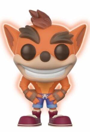 Crash Bandicoot POP! Games Vinyl Figure Crash Bandicoot GITD 9 cm