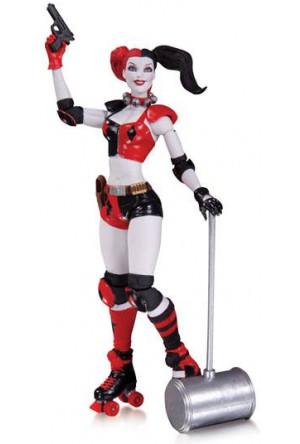 DC Comics The New 52 Action Figure Harley Quinn 17 cm