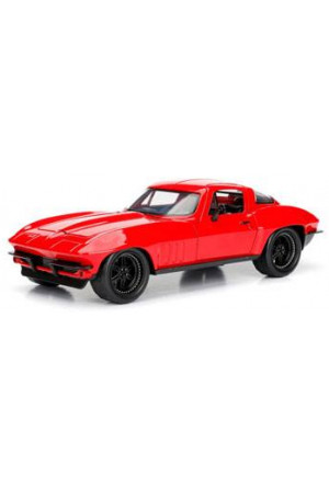 Fast & Furious 8 Diecast Model 1/24 Letty's 1966 Chevy Corvette