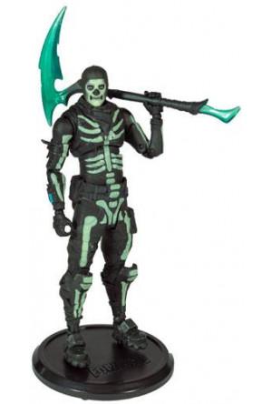 Fortnite Action Figure Green Glow Skull Trooper (Glow-in-the-Dark) Walgreens Exclusive 18 cm
