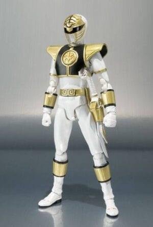 Mighty Morphin Power Rangers S.H. Figuarts Action Figure White Ranger 17 cm