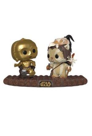 Star Wars POP! Movie Moments Vinyl Bobble-Head 2-Pack C-3PO on Throne 9 cm