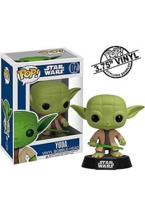 Star Wars POP! Vinyl Bobble-Head Yoda 10 cm