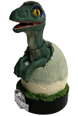 Jurassic World Premium Motion Statue Blue Raptor Hatchling 19 cm