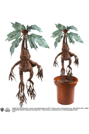 Harry Potter Collector Interactive Plush Figure Mandrake 36 cm
