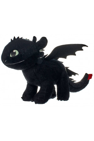 How to Train Your Dragon 3 Plush Figure Toothless Glow In The Dark 32 cm