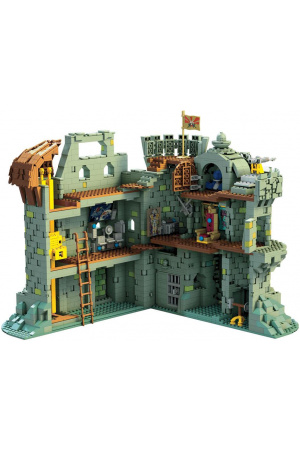 Masters of the Universe Mega Construx Probuilders Construction Set Castle Grayskull