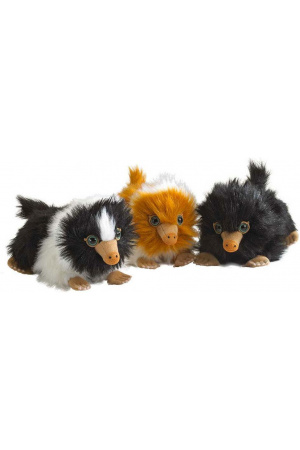 Fantastic Beasts 2 Plush Figures Baby Nifflers 15 cm Display (9)