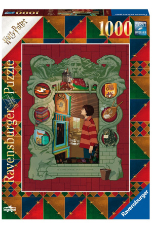 Harry Potter Jigsaw Puzzle At The Weasley's (1000 pieces)