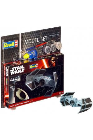 Star Wars Model Kit 1/121 Model Set Darth Vader's TIE Fighter 7 cm