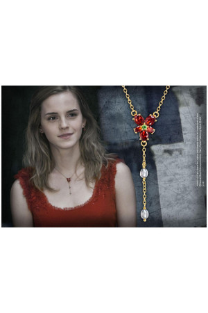 Harry Potter Replica 1/1 Hermione´s Red Crystal Necklace