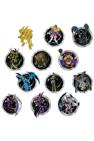 Yu-Gi-Oh! Pin Badge Display (12)