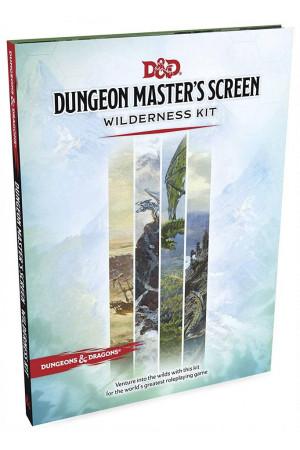 Dungeons & Dragons RPG Dungeon Master's Screen Wilderness Kit english