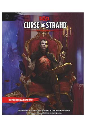 Dungeons & Dragons RPG Adventure Curse of Strahd english