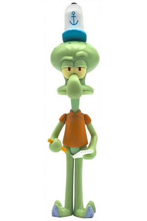 SpongeBob SquarePants ReAction Action Figure Squidward 10 cm