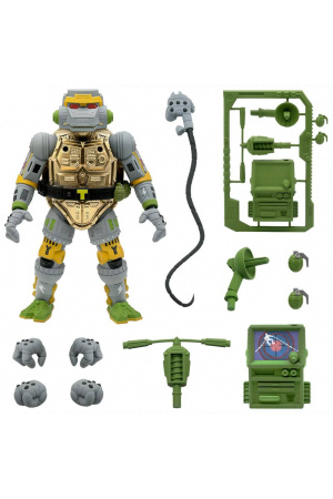Teenage Mutant Ninja Turtles Ultimates Action Figure Metalhead 18 cm
