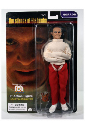 The Silence of the Lambs Action Figure Lecter in Straightjacket 20 cm