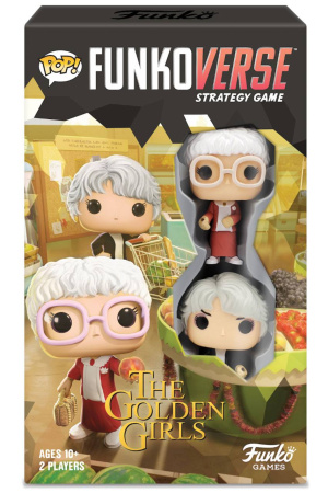 Golden Girls Funkoverse Board Game 2 Character Expandalone *English Version*