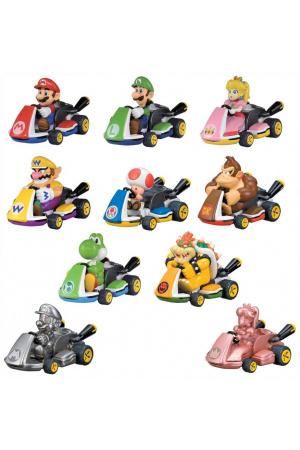 Mario Kart Pull Back Cars Mystery Pack Display (12 stk.)