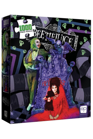 Beetlejuice Jigsaw Puzzle Graveyard Wedding (1000 pieces)
