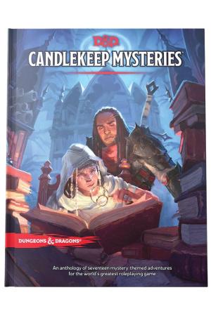 Dungeons & Dragons RPG Adventure Candlekeep Mysteries english