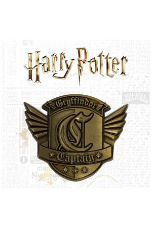 Harry Potter Medallion Gryffindor Captain Limited Edition
