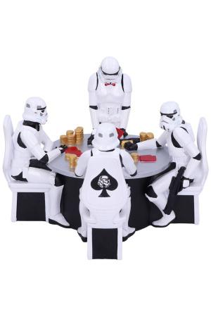 Star Wars Diorama Stormtrooper Poker Face 18 cm