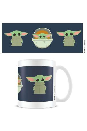 Star Wars The Mandalorian Mug Illustration
