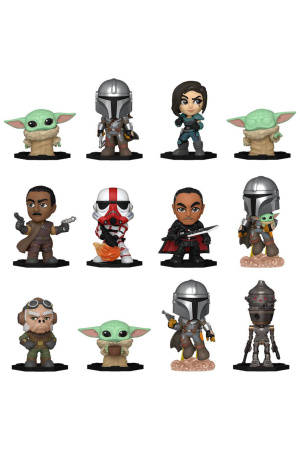 Star Wars: The Mandalorian Mystery Mini Figures 5 cm Display S1 (12 stk.)