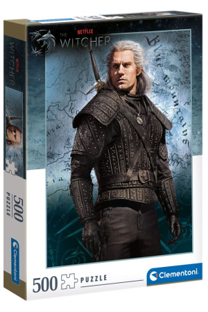 The Witcher Jigsaw Puzzle Geralt of Rivia (500 pieces)