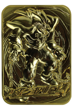 Yu-Gi-Oh! Replica Card Exodia the Forbidden One (gold plated)