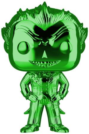 DC POP! Heroes Vinyl Figure The Joker (Green Chrome) 9 cm