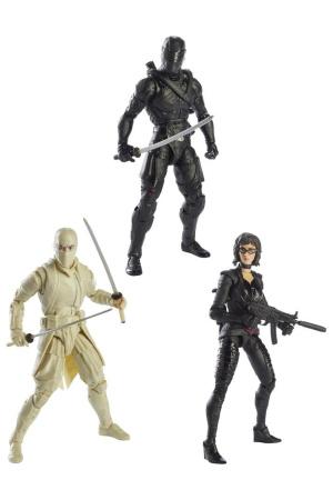 G.I. Joe Classified Series Snake Eyes: G.I. Joe Origins Action Figures 2021 Wave 3 Assortment (6)