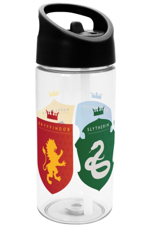 Harry Potter Water Bottle Coats of Arms