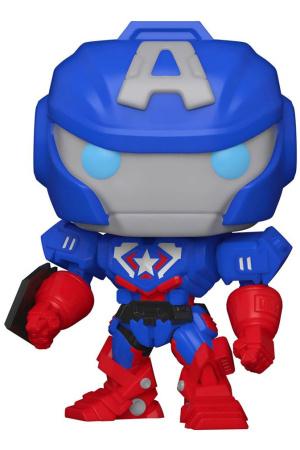 Marvel Mech POP! Vinyl Figure Captain America 9 cm