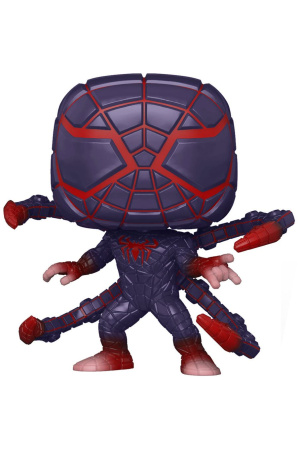 Marvel's Spider-Man POP! Games Vinyl Figure Miles Morales PM Suit 9 cm