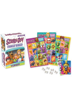 Scooby-Doo Board Game Family Bingo *English Version*