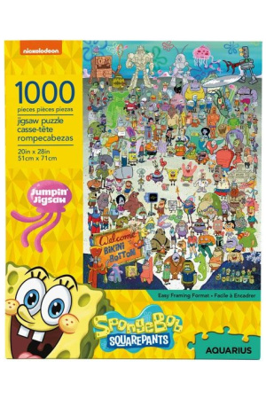 SpongeBob Jigsaw Puzzle Cast (1000 pieces)