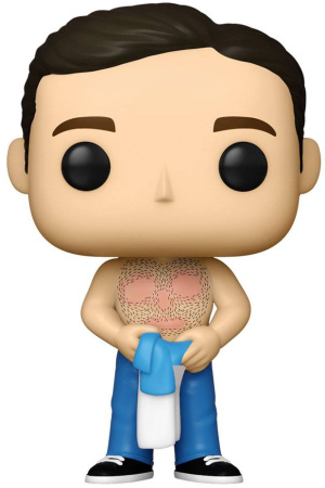 The 40-Year-Old Virgin POP! Movies Vinyl Figure Andy Waxed 9 cm