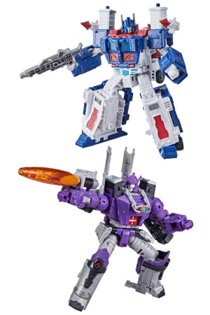 Transformers Generations War for Cybertron: Kingdom Action Figures Leader 2021 W3 Assortment (2)