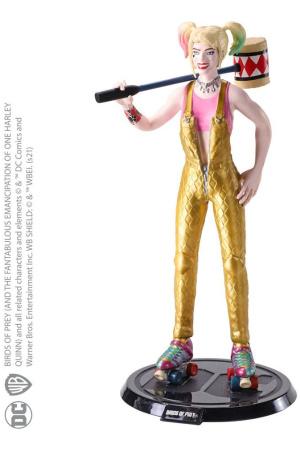 DC Comics Bendyfigs Bendable Figure Harley Quinn BOP with Mallet 19 cm